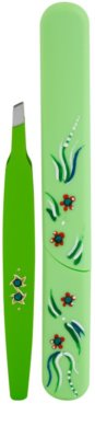 Bohemia Crystal Bohemia Swarovski Hard Painted Nail File and Tweezers coffret III. 1