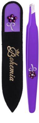 Bohemia Crystal Bohemia Swarovski Nail File and Tweezers kozmetika szett III.