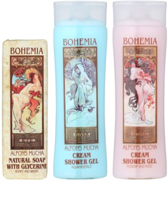 Bohemia Gifts & Cosmetics Alfons Mucha kosmetická sada I. 1