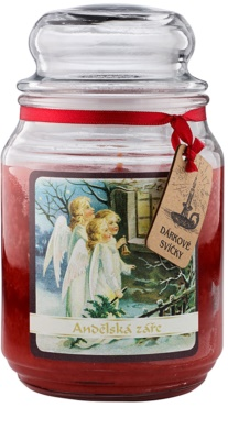Bohemia Gifts & Cosmetics Anjelská Žiara vonná sviečka