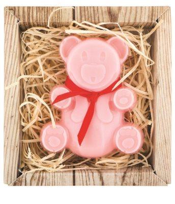 Bohemia Gifts & Cosmetics Bear ručne vyrobené mydlo s glycerínom