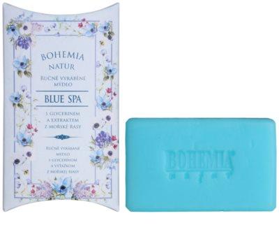 Bohemia Gifts & Cosmetics Blue Spa krémové mýdlo s glycerinem
