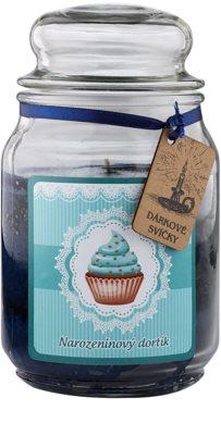 Bohemia Gifts & Cosmetics Birthday Cake świeczka zapachowa