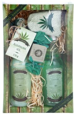 Bohemia Gifts & Cosmetics Cannabis kozmetika szett I.