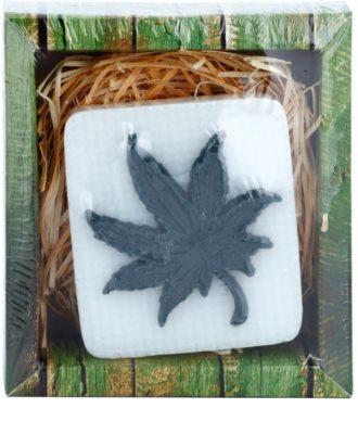 Bohemia Gifts & Cosmetics Cannabis ręcznie robione mydło z gliceryną