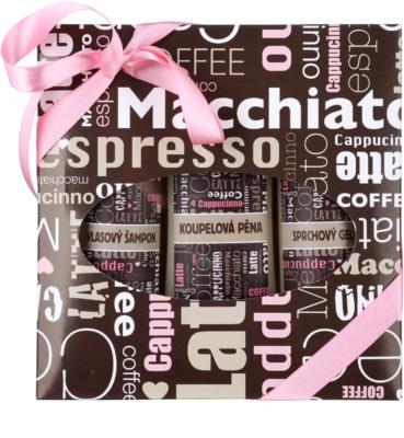 Bohemia Gifts & Cosmetics Coffee Kosmetik-Set  II.