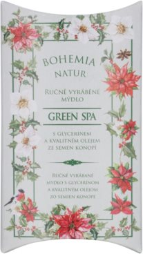 Bohemia Gifts & Cosmetics Green Spa krémové mýdlo s glycerinem 1