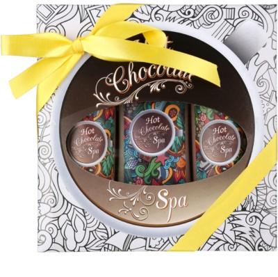 Bohemia Gifts & Cosmetics Hot Chocolate Spa lote cosmético II.