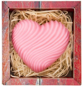 Bohemia Gifts & Cosmetics Heart kézműves szappan glicerinnel