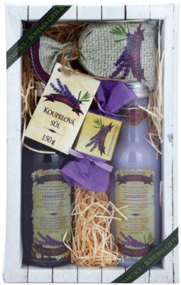 Bohemia Gifts & Cosmetics Lavender zestaw kosmetyków III.