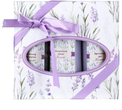Bohemia Gifts & Cosmetics Lavender козметичен пакет  V.