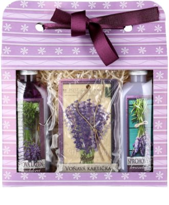 Bohemia Gifts & Cosmetics Lavender set cosmetice VII. 1