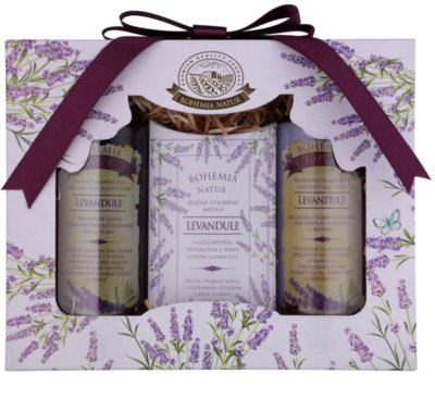 Bohemia Gifts & Cosmetics Lavender kosmetická sada VIII.