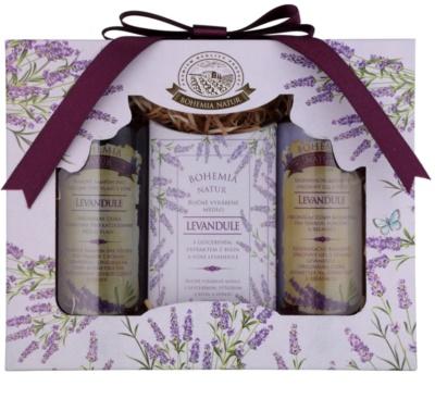 Bohemia Gifts & Cosmetics Lavender zestaw kosmetyków VIII.