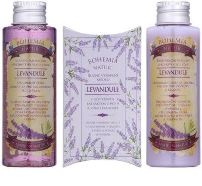 Bohemia Gifts & Cosmetics Lavender kosmetická sada VIII. 1
