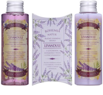Bohemia Gifts & Cosmetics Lavender Kosmetik-Set  VIII. 1