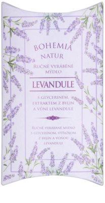Bohemia Gifts & Cosmetics Lavender jabón con textura de crema con glicerina 1