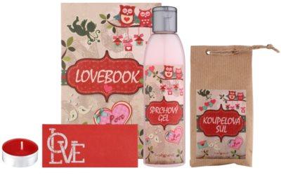 Bohemia Gifts & Cosmetics Lovebook kozmetická sada I.