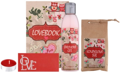 Bohemia Gifts & Cosmetics Lovebook set cosmetice I.
