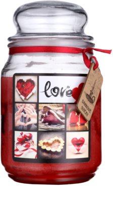 Bohemia Gifts & Cosmetics Love świeczka zapachowa