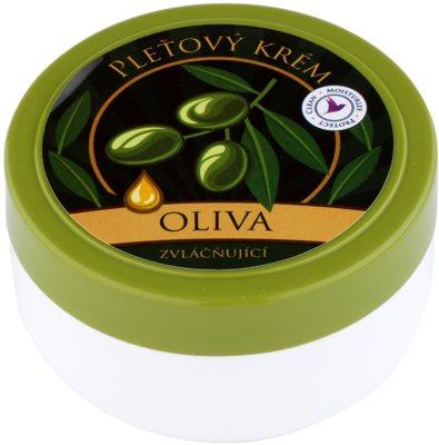 Bohemia Gifts & Cosmetics Olive krem zmiękczający do twarzy