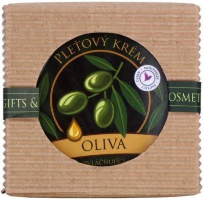 Bohemia Gifts & Cosmetics Olive krem zmiękczający do twarzy 2