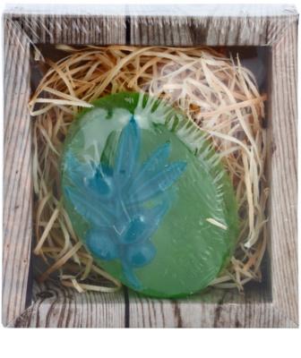 Bohemia Gifts & Cosmetics Olive handgemachte Seife mit Glycerin