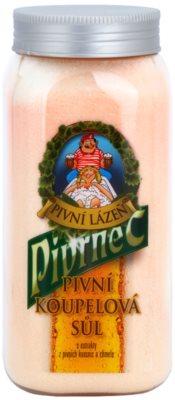 Bohemia Gifts & Cosmetics Beer sört tartalmazó fürdősó