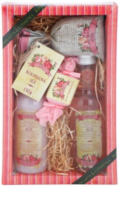 Bohemia Gifts & Cosmetics Rosarium kosmetická sada I.