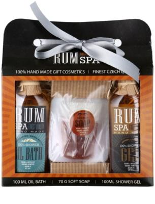 Bohemia Gifts & Cosmetics Rum Spa kozmetická sada I.