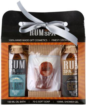 Bohemia Gifts & Cosmetics Rum Spa lote cosmético I.