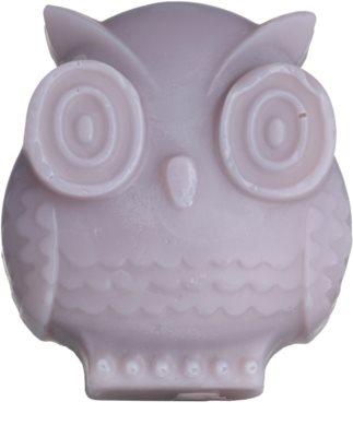 Bohemia Gifts & Cosmetics Owl jabón hecho a mano con glicerina