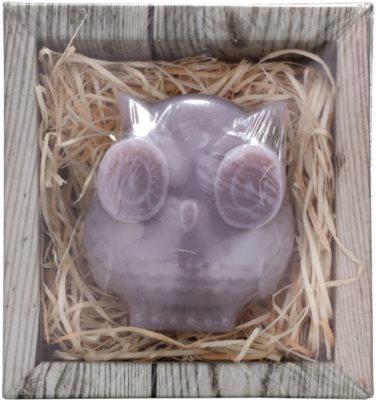 Bohemia Gifts & Cosmetics Owl ręcznie robione mydło z gliceryną 1