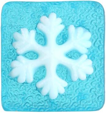 Bohemia Gifts & Cosmetics Snowflake мило ручної роботи з гліцерином