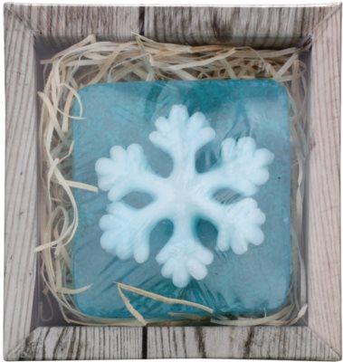 Bohemia Gifts & Cosmetics Snowflake handgemachte Seife mit Glycerin 1