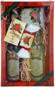 Bohemia Gifts & Cosmetics Wine Spa kosmetická sada I.