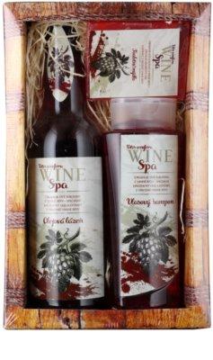 Bohemia Gifts & Cosmetics Wine Spa kozmetická sada II.