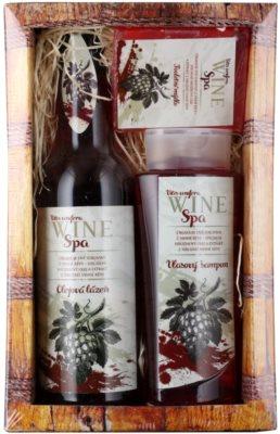Bohemia Gifts & Cosmetics Wine Spa kozmetika szett II.
