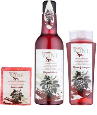 Bohemia Gifts & Cosmetics Wine Spa Kosmetik-Set  II. 1