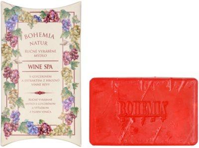 Bohemia Gifts & Cosmetics Wine Spa krémes szappan glicerinnel