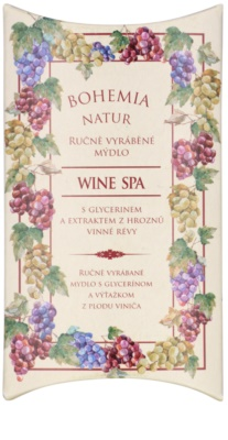Bohemia Gifts & Cosmetics Wine Spa cremige Seife mit Glycerin 1