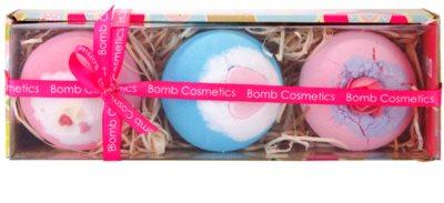 Bomb Cosmetics 3 Premium Blasters kosmetická sada I.