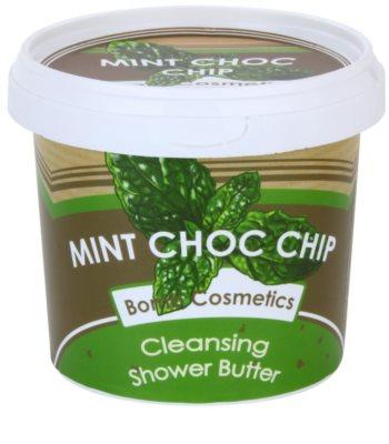 Bomb Cosmetics Mint Choc Chip sprchové maslo pre suchú pokožku