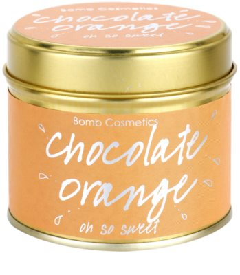 Bomb Cosmetics Chocolate Orange Duftkerze 1