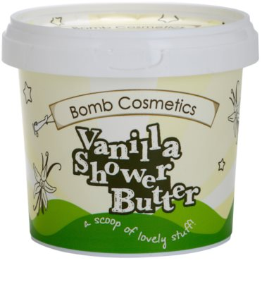 Bomb Cosmetics Chilla Vanilla manteca de ducha  para pieles secas