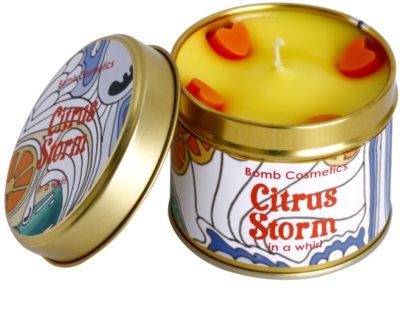 Bomb Cosmetics Citrus Storm vela perfumada