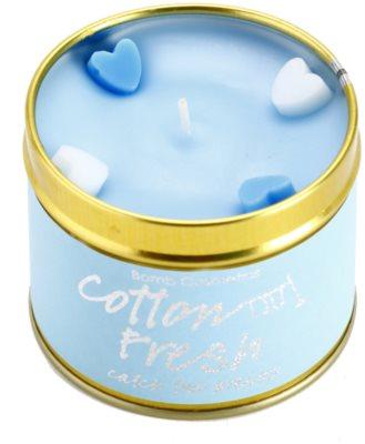 Bomb Cosmetics Cottom Fresh vela perfumada 1