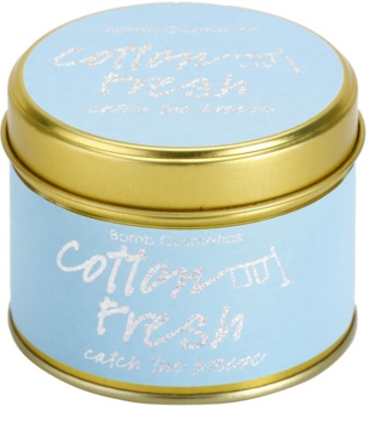Bomb Cosmetics Cottom Fresh vela perfumada 2