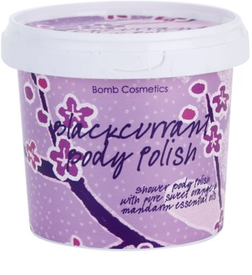 Bomb Cosmetics Blackcurrant gel de ducha exfoliante