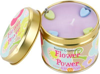 Bomb Cosmetics Flower Power vela perfumada